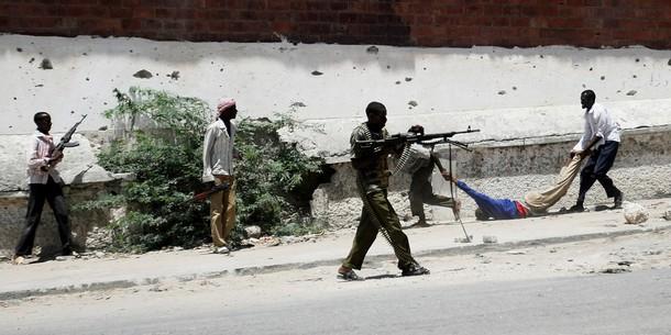 SOMALIA-VIOLENCE-GUN BATTLE