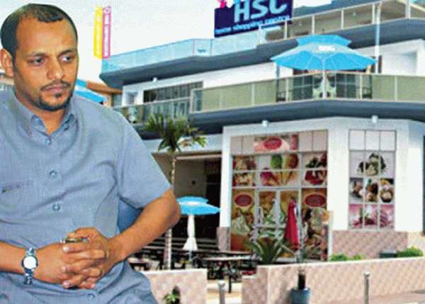 Said MOHAMED Saad (inset) was attacked at his own shopping mall