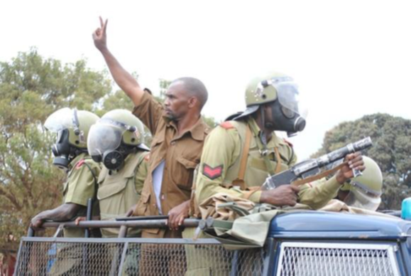 Kikwete's police in action