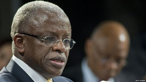 Amama Mbabazi was sacked as prime minister in 2014 after three years in the job
