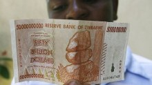 Zimbabwe abandoned its own currency in 2009 after hyperinflation made it worthless